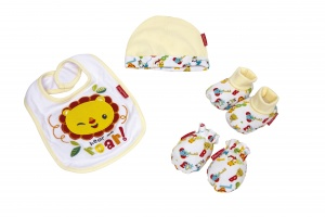 Fisher-Price cadeauset baby 4-delig
