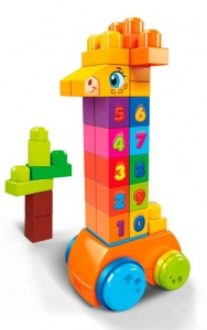 Fisher-Price Mega Bloks First Builders giraffe 30-delig