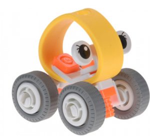 Free and Easy buggy junior oranje/geel/grijs