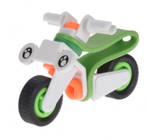 Free and Easy motor junior groen/wit