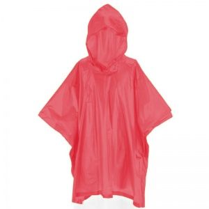 Free and Easy regenponcho junior one size rood