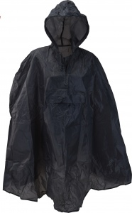 Free and Easy regenponcho one size unisex navy