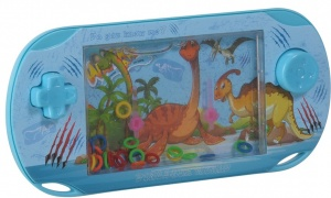 Free and Easy waterspel dino blauw