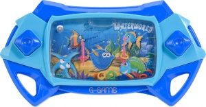 Free and Easy waterspelletje Waterworld blauw
