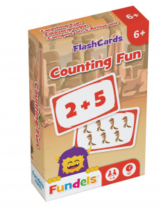 Fundels flashcards Counting Fun 6 x 9,3 cm karton