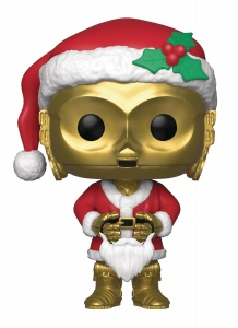 Funko Pop! Star Wars: Holiday - C-3PO as Santa