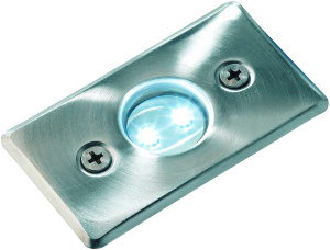 Garden Lights buitenspot Axis 4,2 cm RVS led 0,5W 12V zilver/wit