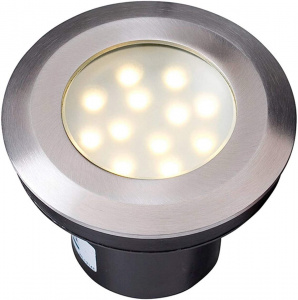 Garden Lights Gavia 14,5 cm 2W 90 lmn RVS antraciet
