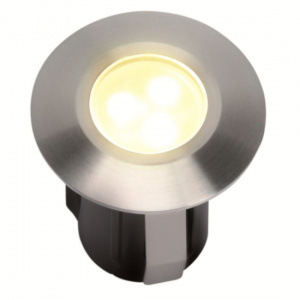 Garden Lights tuinspot Alpha 4,2 cm RVS SMD-led 0,5W 12V zilver