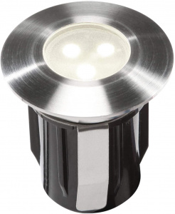 Garden Lights tuinspot Alpha 4,2 cm SMD-led 6000K 0,5W 12V zilver