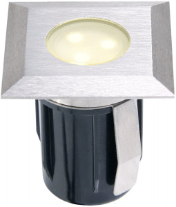 Garden Lights tuinspot Atria 4,2 cm RVS SMD-led 0,5W 12V zilver