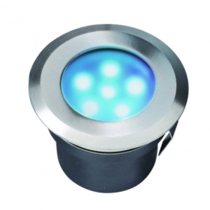 Garden Lights tuinspot Sirius 7 cm RVS SMD-led 1W 12V blauw