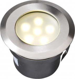 Garden Lights tuinspot Sirius 7 cm RVS SMD-led 1W 12V zilver