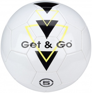 Get & Go Voetbal Triangle Speed PVC leder wit
