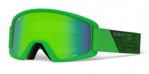 Giro skibril Semi Bright Green Peak/Yellow junior groen