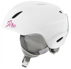 Giro skihelm Launch junior wit