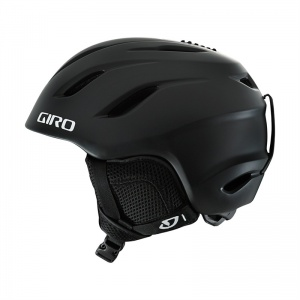 Giro skihelm nine junior matzwart