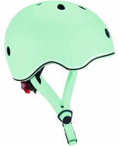 Globber helm Go Up Lights Pastel junior groen maat 45-51 cm