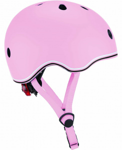 Globber helm Go Up Lights Pastel junior roze maat 45-51 cm