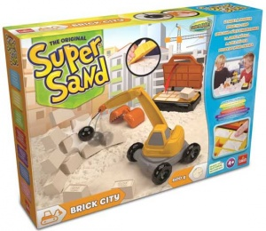 Goliath Super Sand Brick City speelzand 4-delig