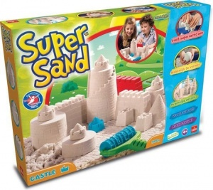 Goliath Super Sand Castle speelzand 900 gram 11-delig