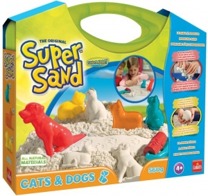 Goliath Super Sand Cats & Dogs Suitcase speelzand 560 gram