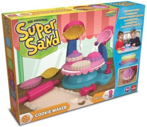 Goliath Super Sand Cookie Maker speelzand 8-delig