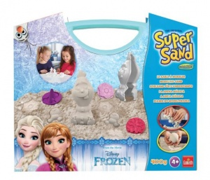 Goliath Super Sand Disney Olaf Suitcase speelzand 400 gram