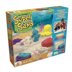 Goliath Super Sand Sealife speelzand 7-delig