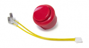GranBoard reserveonderdeel Change Button 3/3s rood 2-delig