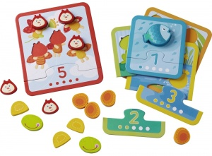 Haba sorting game beastly counting fun junior 5-piece