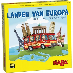 Haba game Countries of Europe (NL)