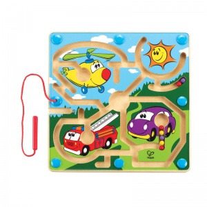 Hape behendigheidsspel Mighty Motors 24,4 cm