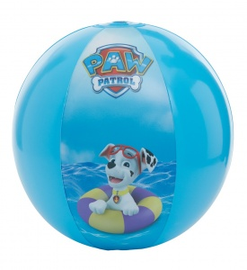 Happy People strandbal Paw Patrol 29 cm blauw
