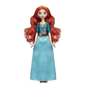 Hasbro Disney Princess Royal Shimmer Pop Merida 28 cm speelfiguur