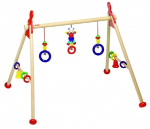 Heimess Babygym Hout Beer