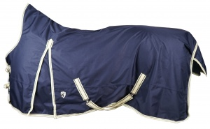 HORKA outdoordeken high neck 600D blauw maat 70/115