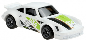 Hot Wheels auto Porsche 934 Turbo RSR 6,8 cm wit/groen