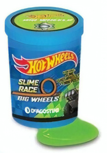 Hot Wheels verrassingsslijm met auto Gasoline Top Fluo 2-delig