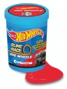 Hot Wheels verrassingsslijm met auto New Energy Oil 2-delig