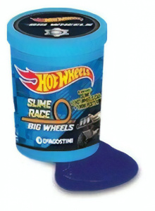 Hot Wheels verrassingsslijm met auto Sport Energy Oil 2-delig