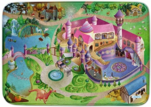 House of Kids Speelkleed prinsessen kasteel 100 x 150 cm