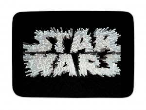 House of Kids vloerkleed Star Wars zwart 70 x 95 cm