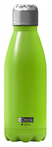 I-Drink thermosfles 350 ml RVS lime