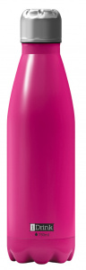 I-Drink thermosfles 750 ml RVS roze
