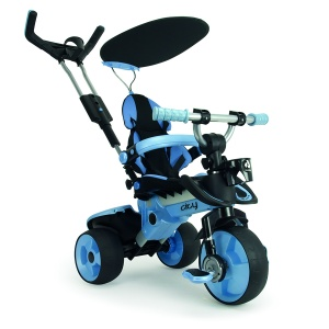 Injusa City Trike Junior Blauw