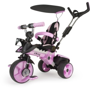 Injusa City Trike Junior Roze