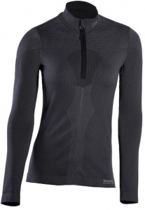 Iron-IC thermoshirt Fusion half zip dames polyamide zwart