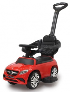 Jamara loopwagen Mercedes-AMG 63 junior 3-in-1 rood