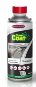 Jamara thinner Cover Coat 450 ml aluminium grijs